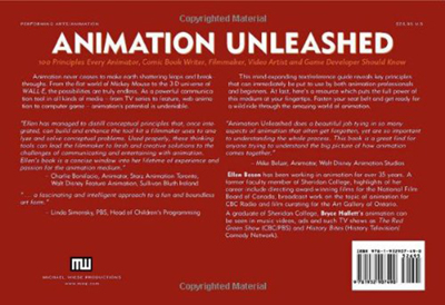 08-0204 Animation Unleashed BACK COVER