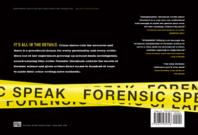 12-1115 Forensic Speak