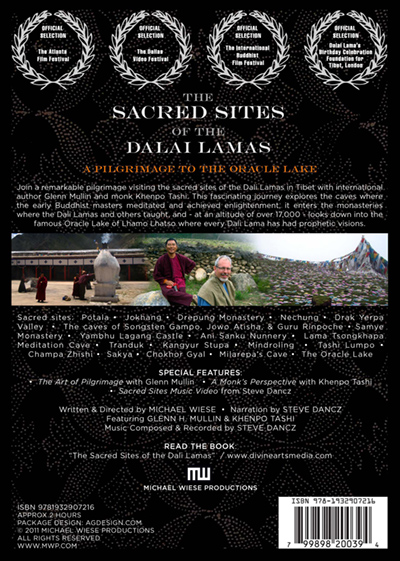 The Sacred Sites of the Dalai Lamas BACK COVER